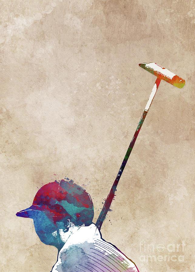 Polo Sport Art #polo #sport Digital Art