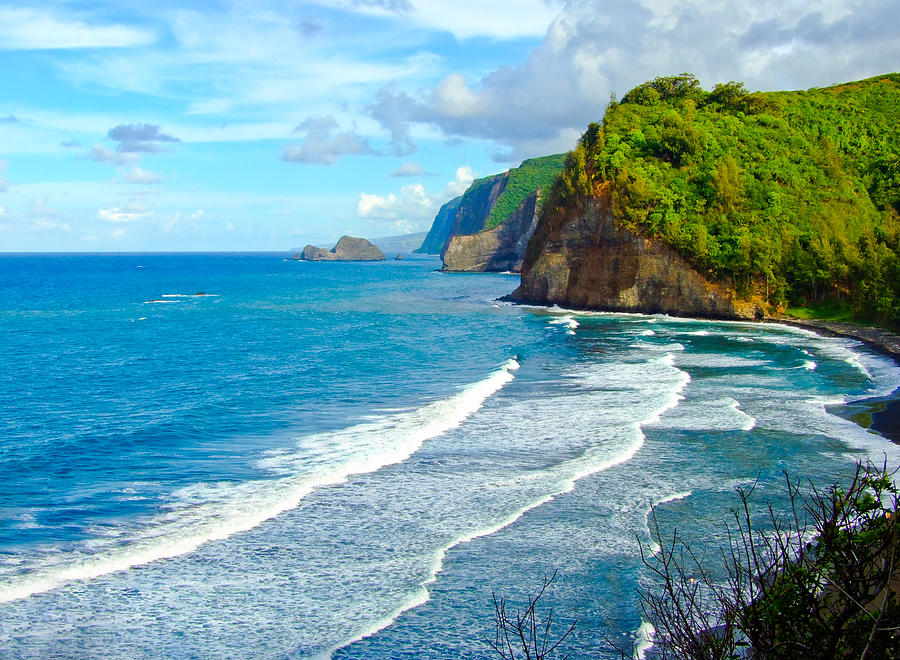 Pololu Valley in Big Island, Hawaii Photograph by Feng Wei Photography