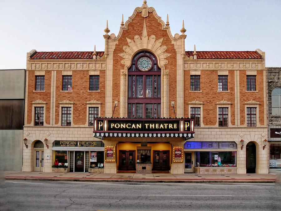 Ponca Theater Photograph