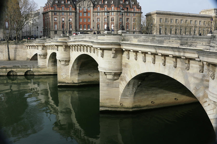Paris Photograph - Pont Neuf by Ron Berezuk