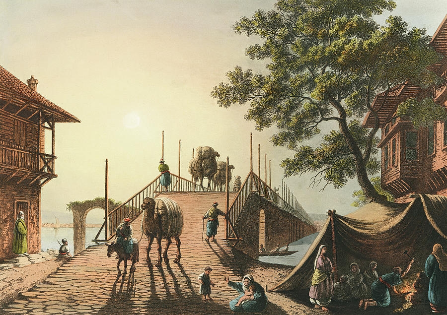 Ponte Piccolo From Views In The Ottoman Dominions Painting