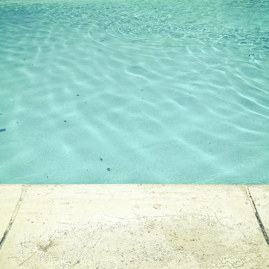 Swimming Pool Photograph - Pool by Cassia Beck