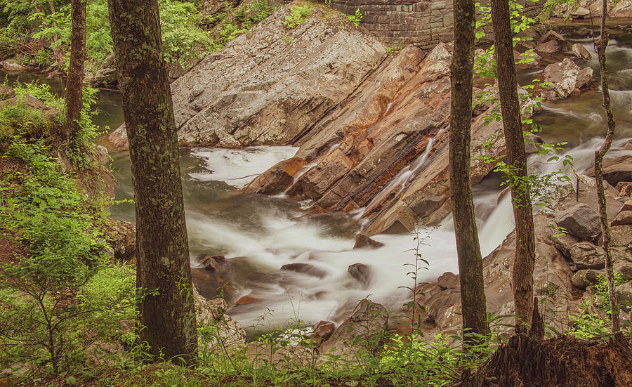 Pools of the Sinks, Great Smoky Mountains by Marcy Wielfaert