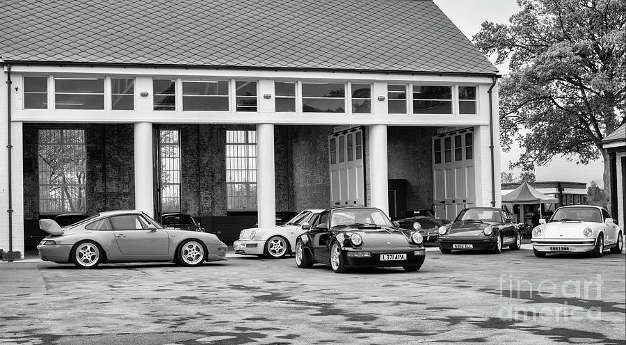 Porsche Cars at Bicester Heritage Drive It Day by Tim Gainey