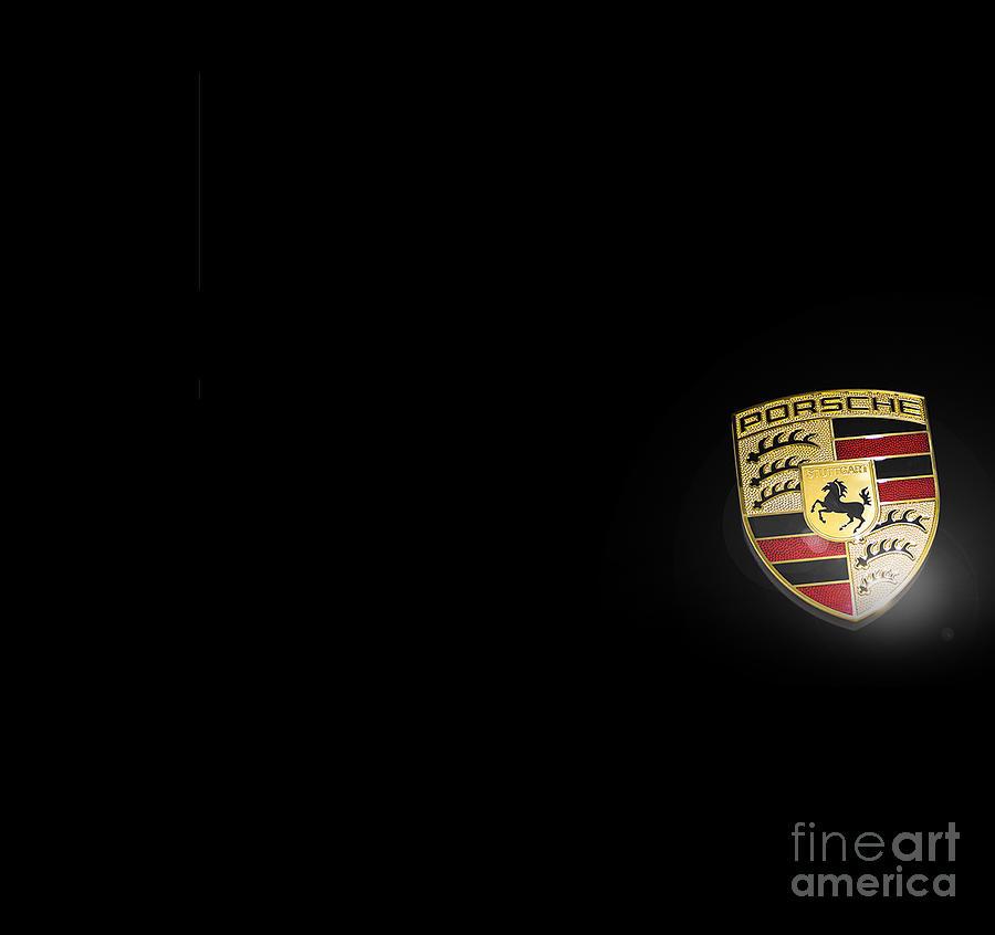 Porsche 911 Photograph - Porsche facemask large by Stefano Senise