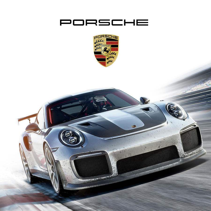 Porsche Mixed Media - Porsche Sport by Gina Dsgn
