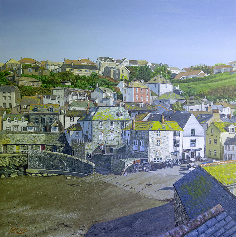 Port Isaac Painting - Port Isaac by Raymond Ore