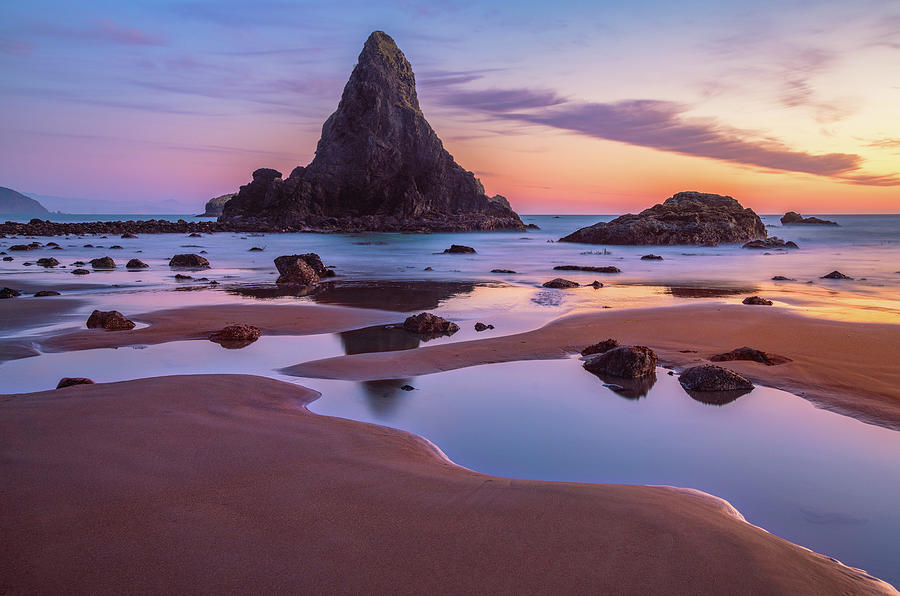 Port Orford Tide Pools Photograph