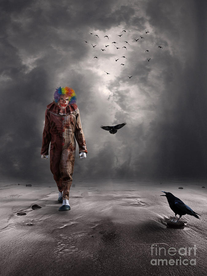 Crazey Clown by Jim Hatch