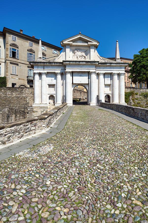 Porta San Giacomo (Saint James Door), Bergamo, Italy Photograph by Mauro Tandoi