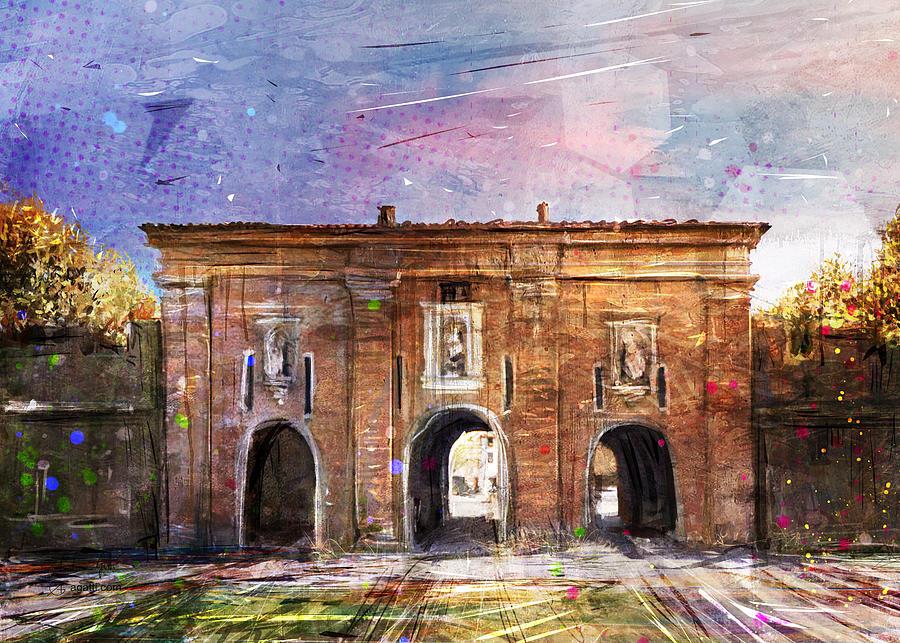 Porta Santa Maria Digital Art