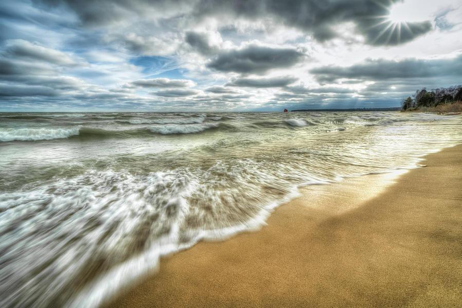 Portage Beach by Brad Bellisle