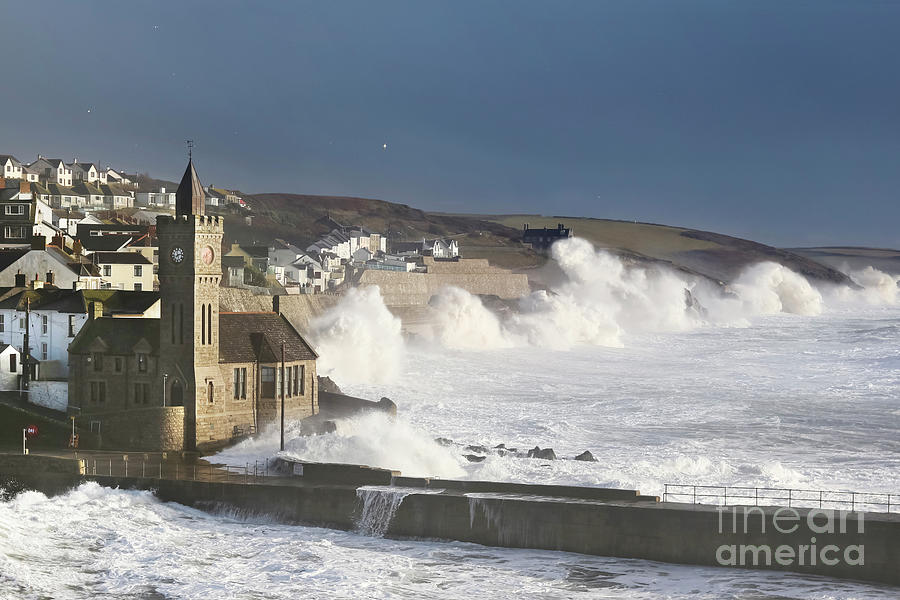 Porthleven In December Photograph