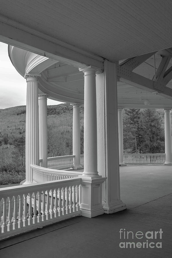 Portico Mount Washington Hotel Bretton Woods New Hampshire by Edward Fielding