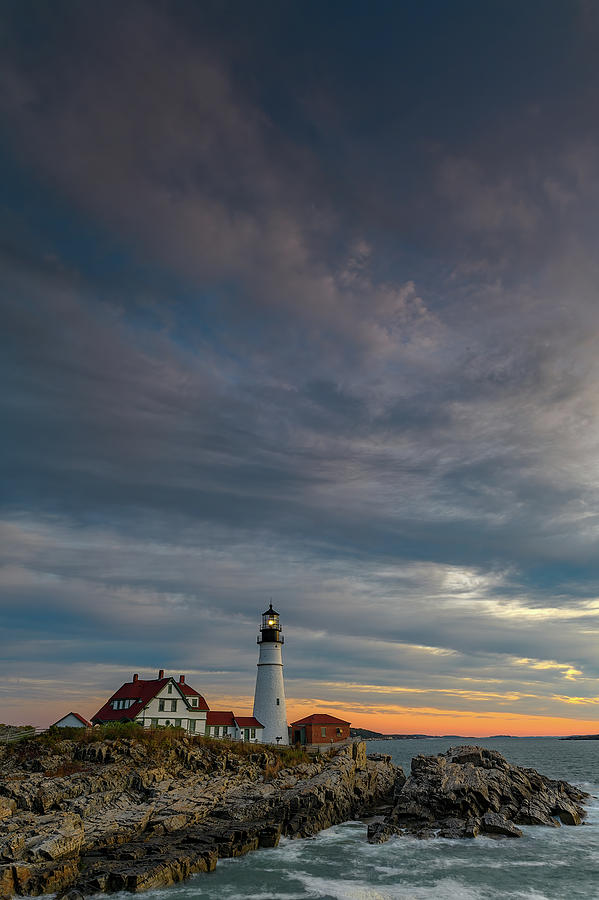 Portland Head on an October Morning by Rick Berk
