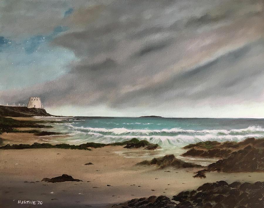Portmarnock Dawn Painting