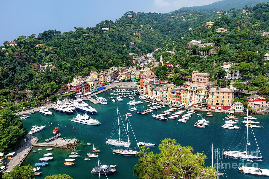 Portofino Harbor View - Italy IIi Photograph