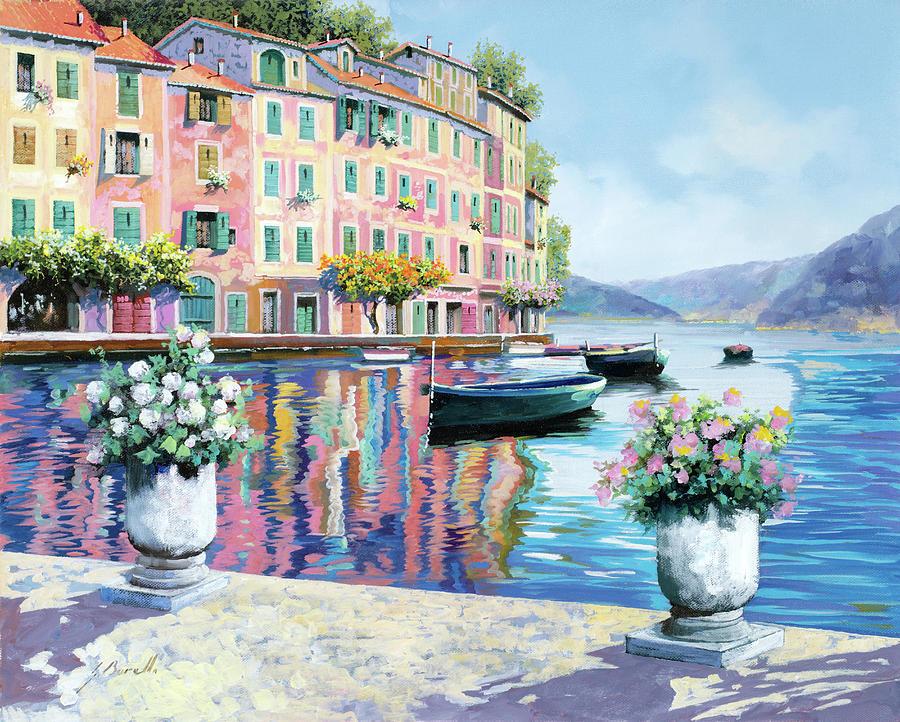 Portofino Rosa-azzurro Painting