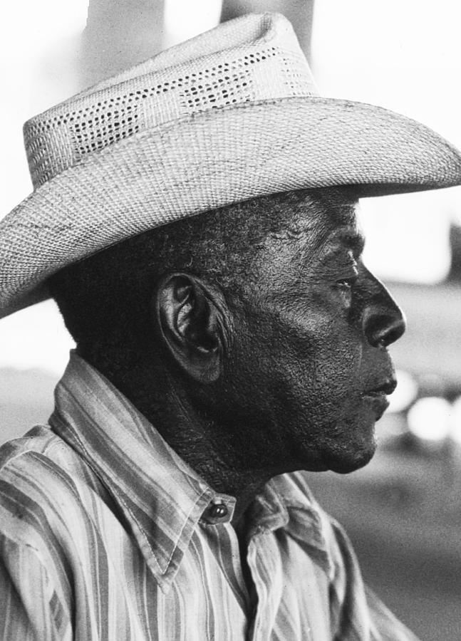 Portrait Of A Black Man Photograph