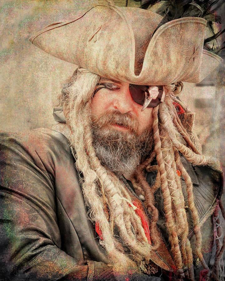 Portrait Of A Pirate Photograph