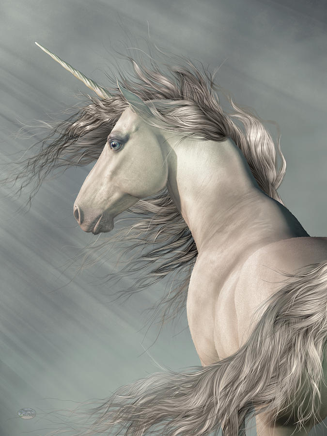Portrait of a Unicorn by Daniel Eskridge