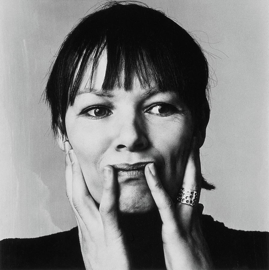 Portrait of Actress Glenda Jackson Photograph by Jack Robinson
