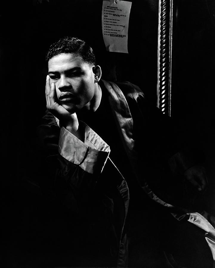 Portrait of Boxer Joe Louis Photograph by Lusha Nelson