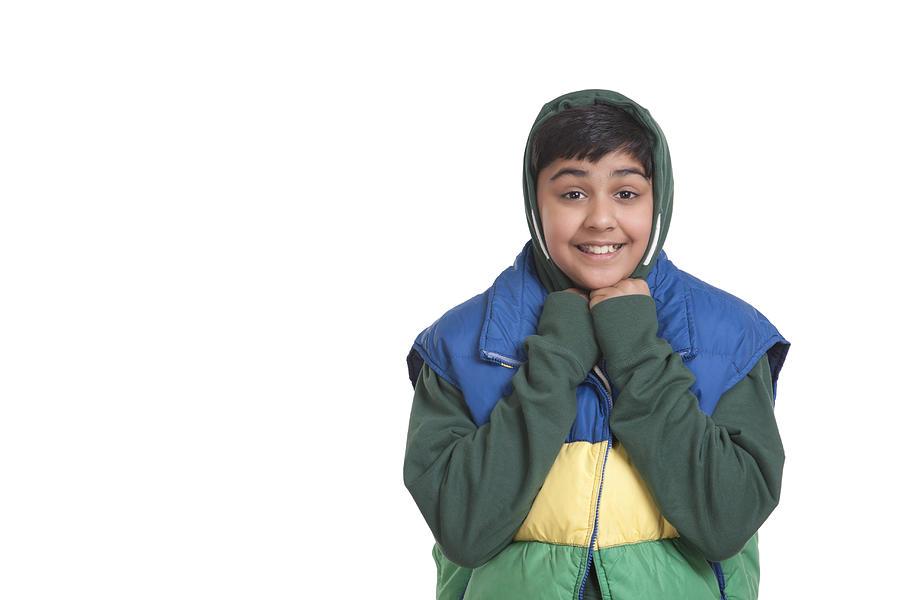 Portrait of boy smiling Photograph by Sudipta Halder