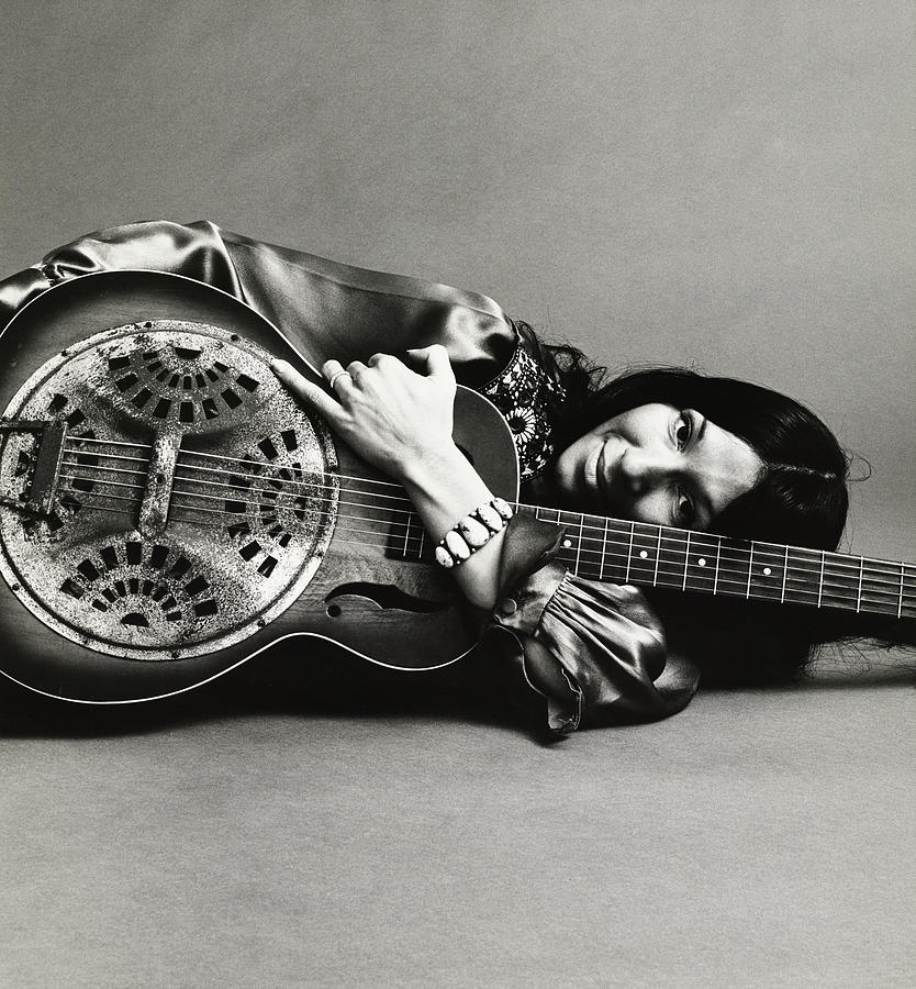 Portrait Of Buffy Sainte-Marie Photograph by Jack Robinson