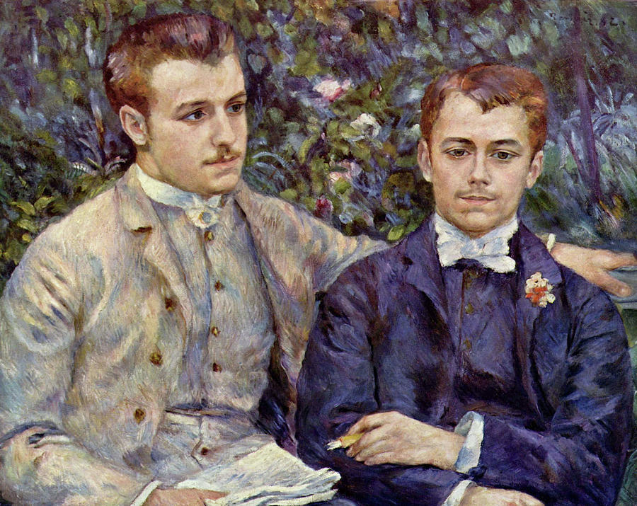 Portrait of Charles and Georges by Pierre Auguste Renoir