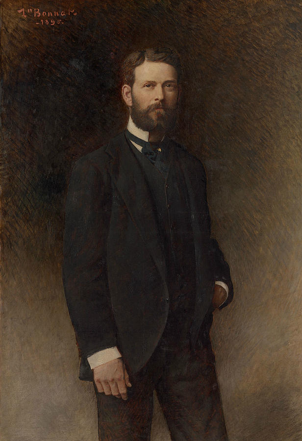 Portrait of Henry Field by Leon Bonnat