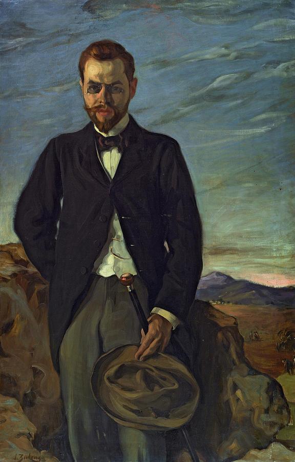 Portrait Painting - Portrait Of Ivan Shchukin, 1899 by Ignacio Zuloaga