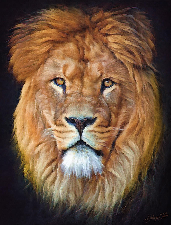 Portrait Of The King Painting
