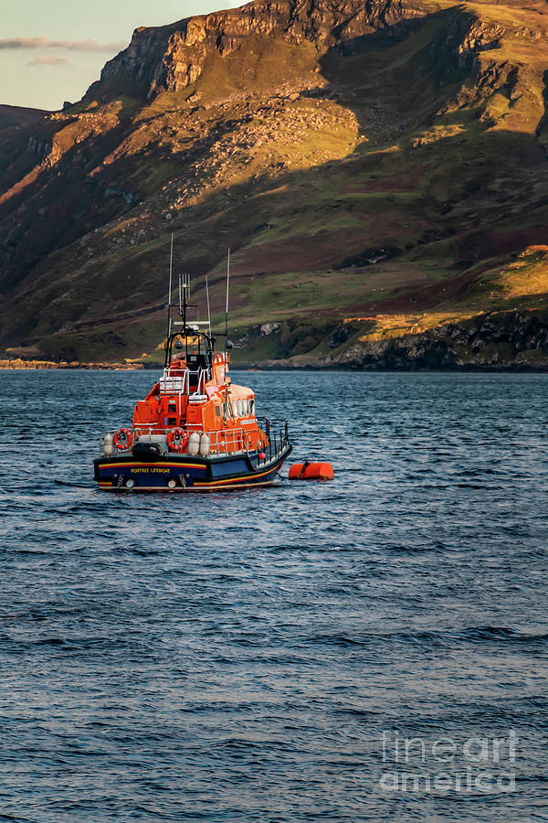 Portree Lifeboat Photograph