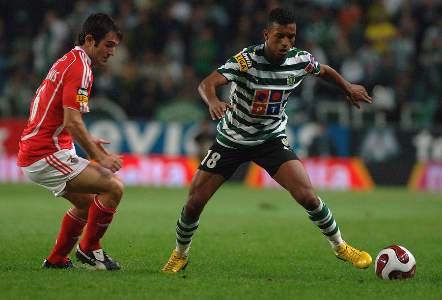 Portugese Premier League - Sporting Lisbon vs SL Benfica - December 1, 2006 Photograph by CityFiles