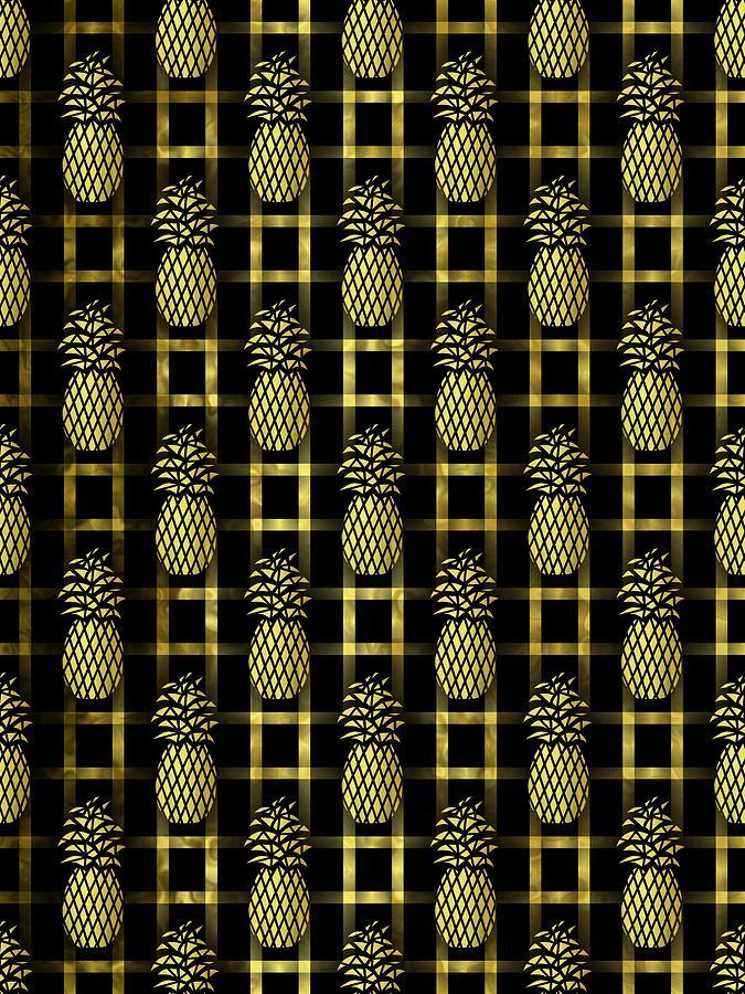 Posh Pineapples by Kathleen Sartoris