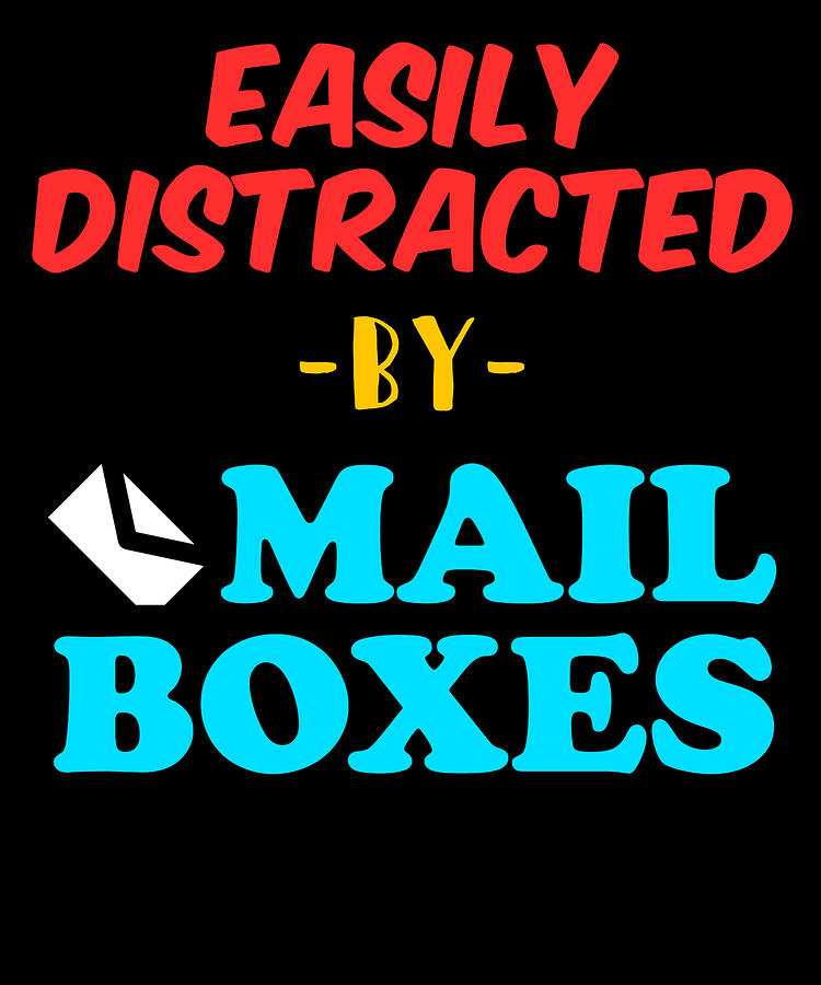 Post Office Postal Worker Funny Mailboxes Apparel Digital Art By
