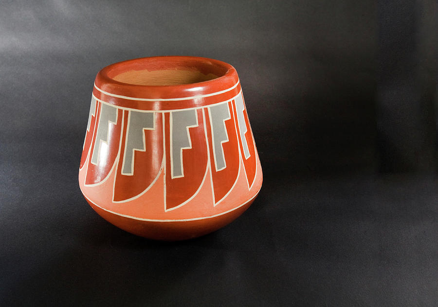 Pottery From Santa Clara Pueblo, New Mexico Photograph