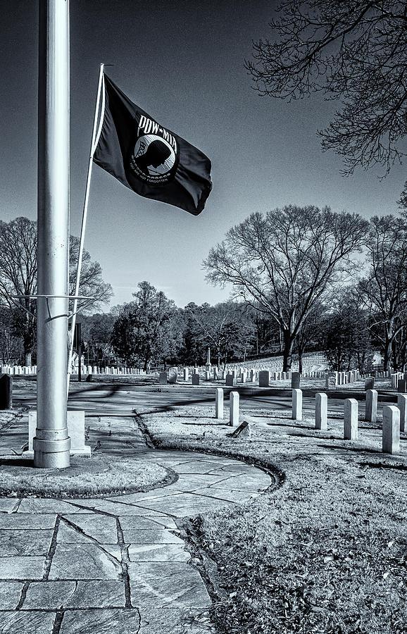 POW MIA Flag by Tom Singleton