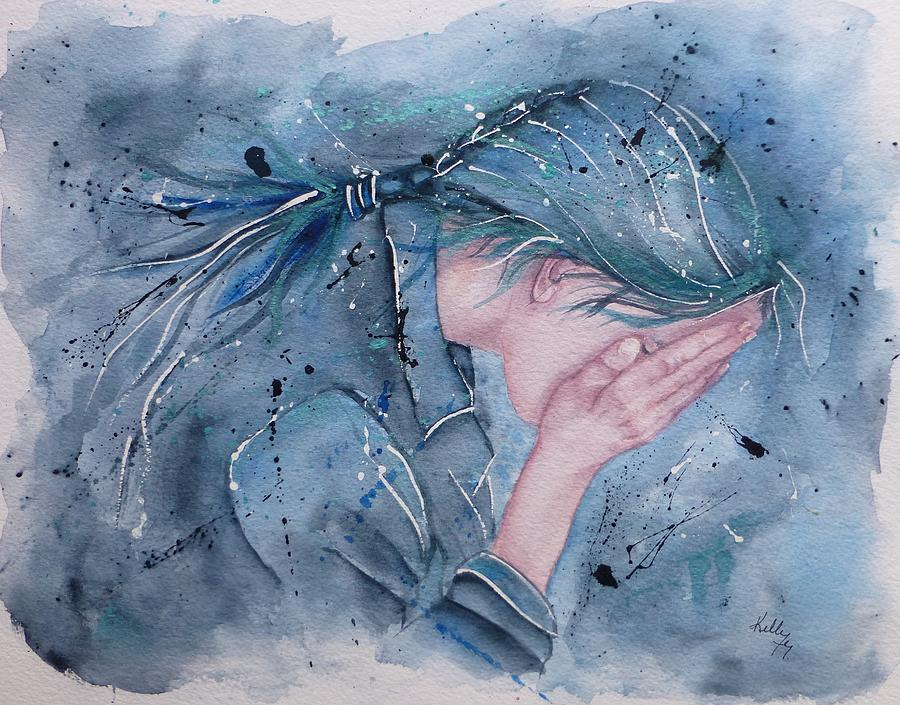 Powerful Emotion .... The Cry  by Kelly Mills