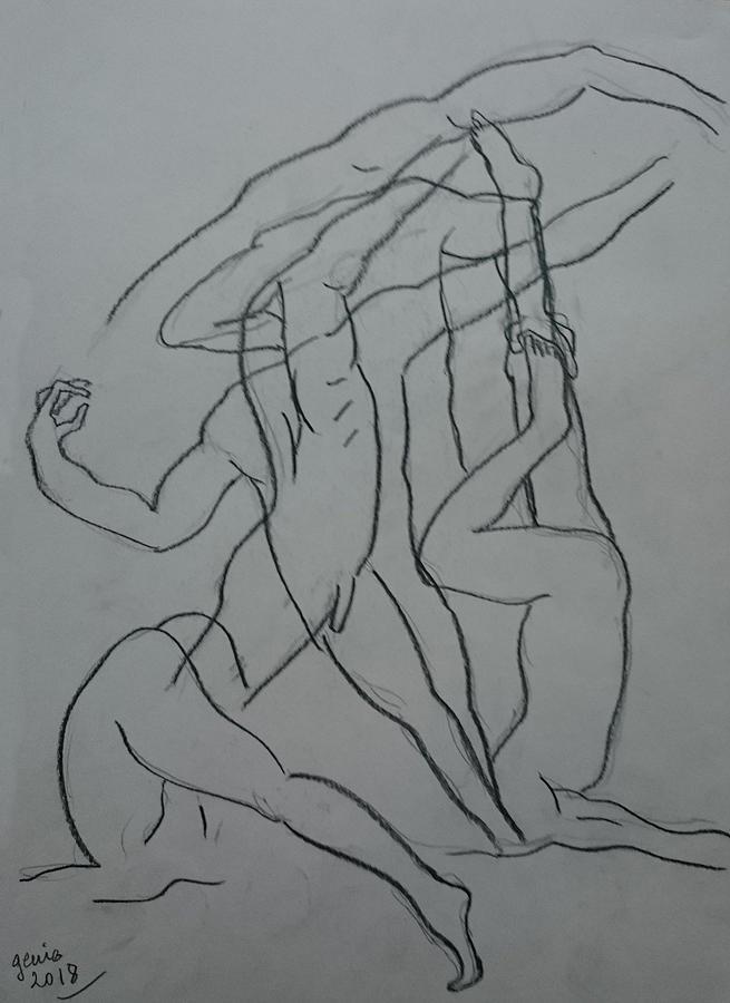 Practising Omnipresence Drawing