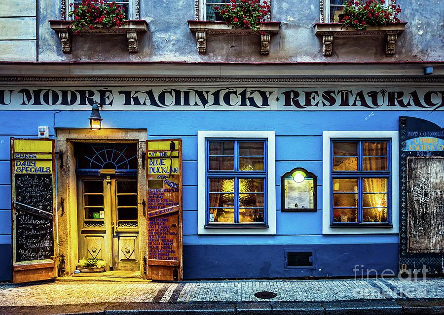 Prague Restaurant by Miles Whittingham