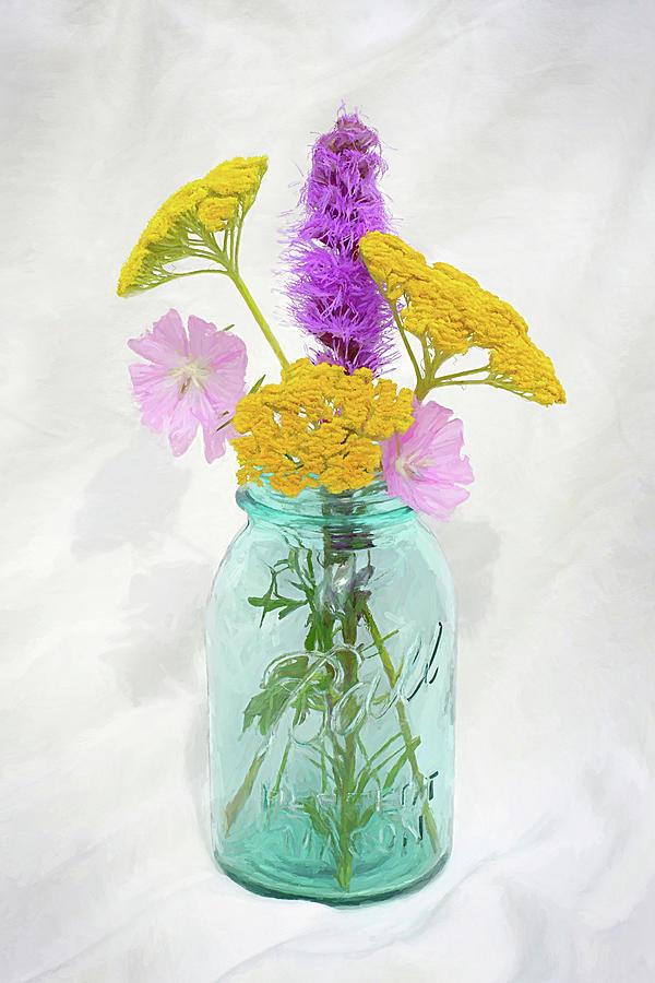 Prairie Floral Still Life Photograph
