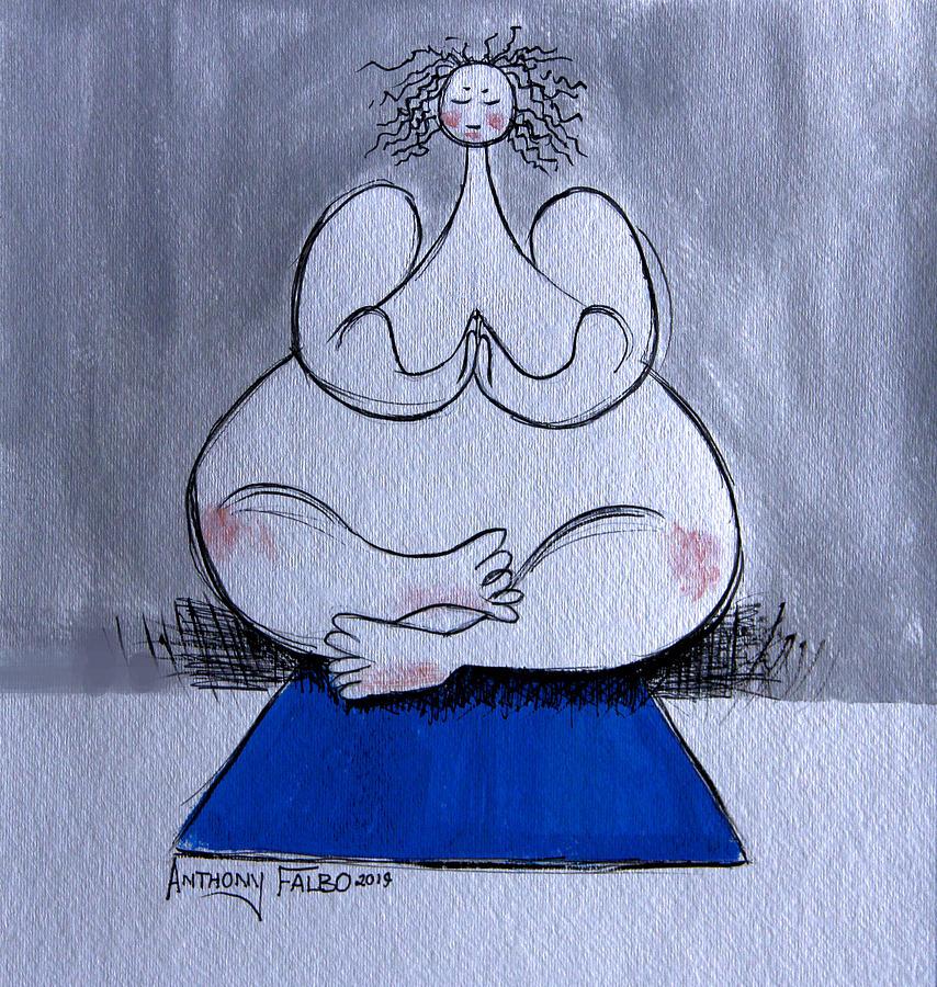 Prayer And Meditation  by Anthony Falbo