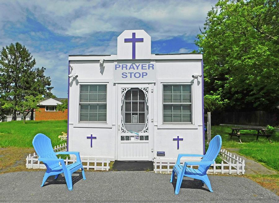 Prayer Stop1 Silver Spring Md Photograph