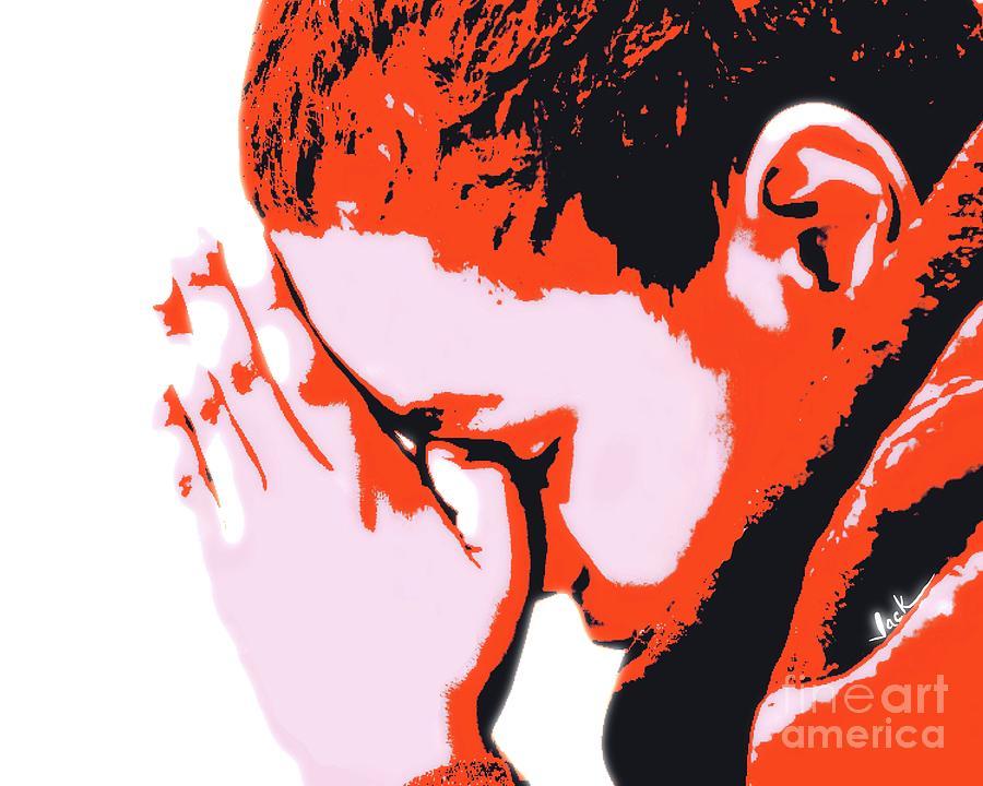 Pray Painting - Precious Prayer by Jack Bunds