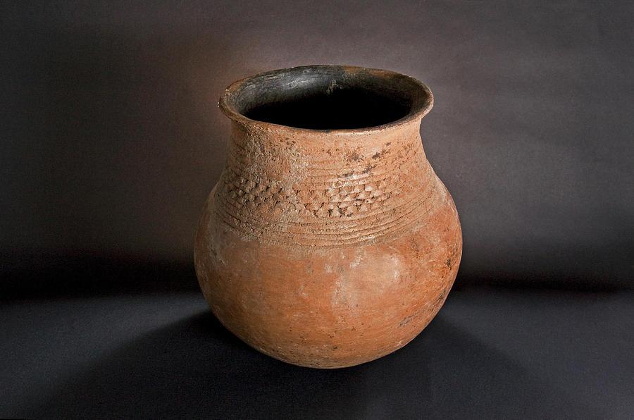 Prehistoric Mogollon Pottery Photograph