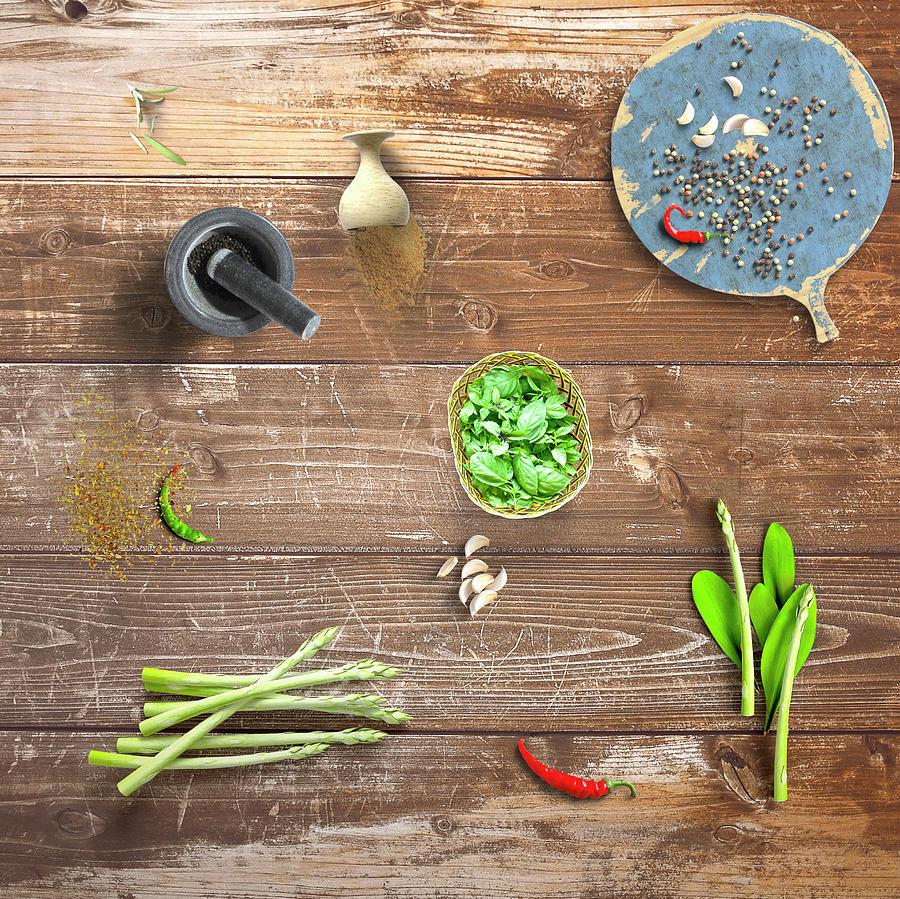 Preparing For Dinner 2 by Johanna Hurmerinta