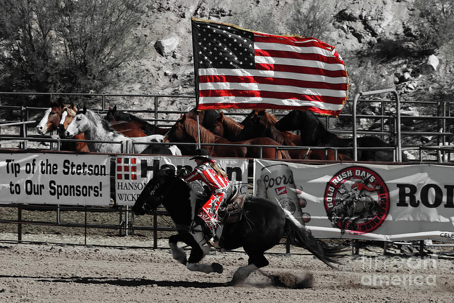 Wickenburg Photograph - Presenting The Colors In Red by Bob Hislop