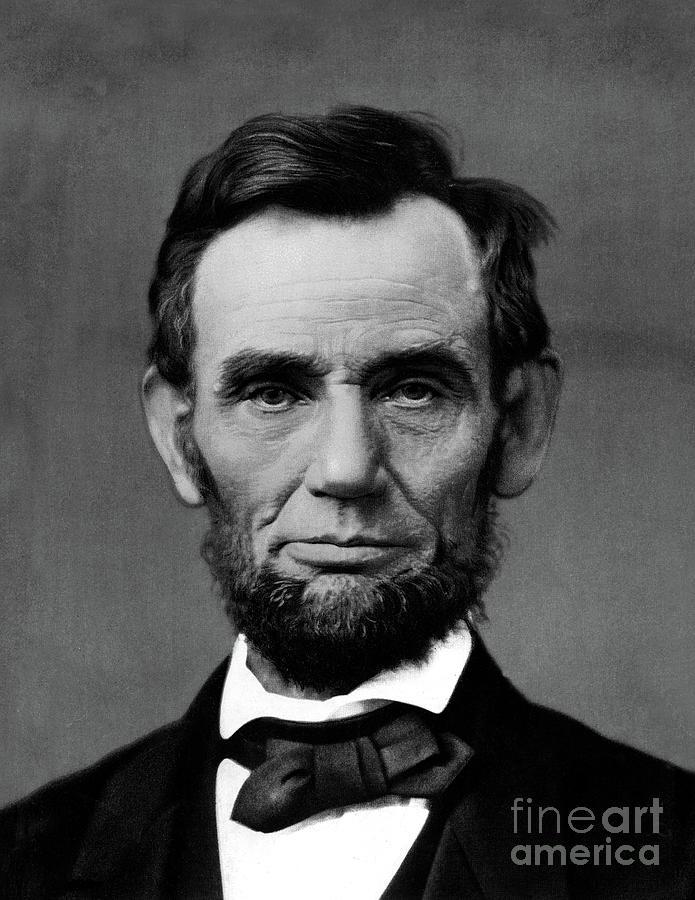 President Abraham Lincoln  by Doc Braham